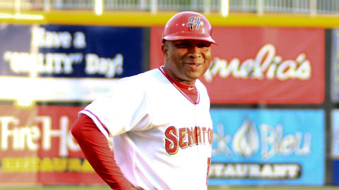Tony Beasley is a 3-time <i>Baseball America</i> Manager of the Year.