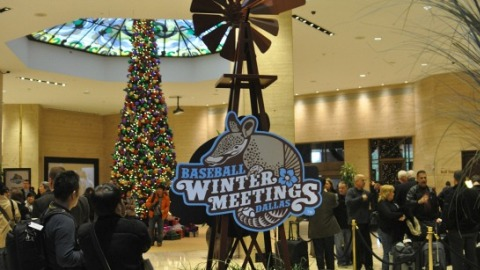 The Hilton Anatole Hotel in Dallas hosted the Winter Meetings.