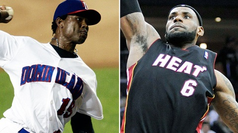 The Indians signed RHP Willy Lebron to a Minor League deal Friday. He's not to be confused with the LeBron that is now Public Enemy No. 1 in Cleveland.