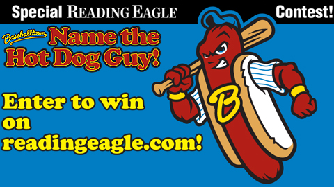 Enter to win the Baseballtown Name the Hot Dog Guy contest.