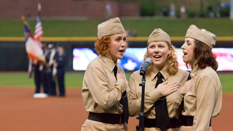 National anthem tryouts are March 3rd at Hanes Mall.