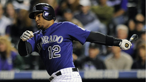 Wilin Rosario smacked 24 homers between the Majors and Minors last year.
