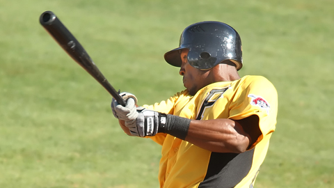 Starling Marte signed out of his native Dominican Republic in January 2007.