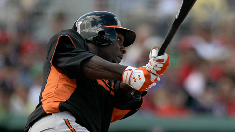 Xavier Avery, 22, was the Orioles' second-round draftee in 2008.