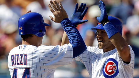 Anthony Rizzo (.962 OPS) and Brett Jackson (.986) both impressed this spring.