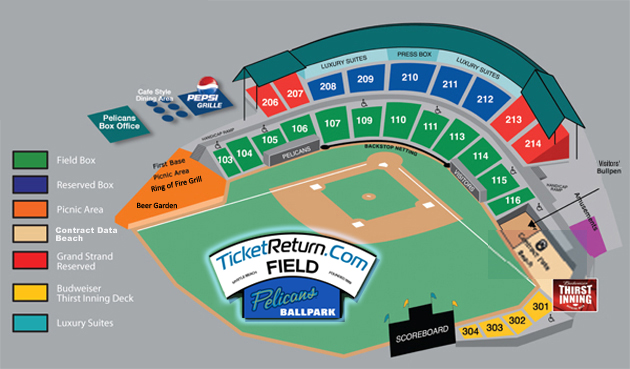 M B Pelicans Single Game Ticket Prices