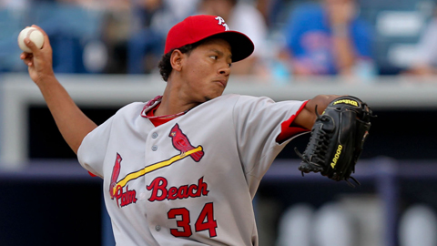 Carlos Martinez signed out of the Dominican Republic in April 2010.