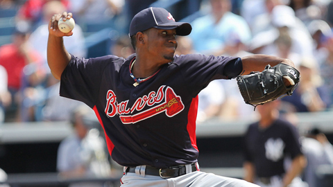 Julio Teheran posted a 2.55 ERA in 144 2/3 innings at Triple-A last year.