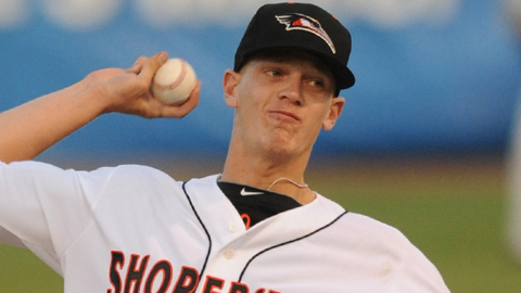 Bridwell tossed five solid innings in a 4-3 loss to Greensboro on Friday