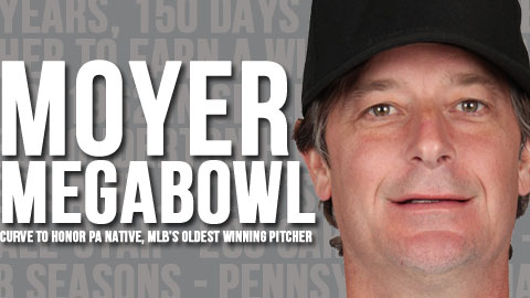PA's own Jamie Moyer became the oldest MLB pitcher to ever win a game Tuesday in Denver.