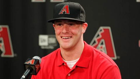 Archie Bradley signed a $5 million contract with Arizona.