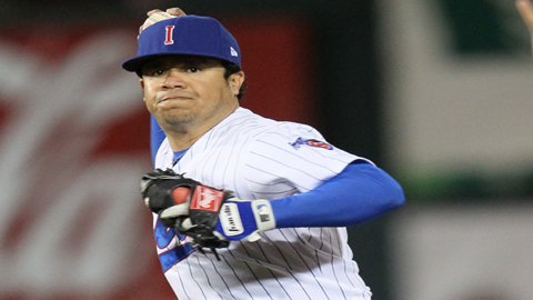 Alfredo Amezaga is playing winter ball in Mexico and is one of the league's hottest hitters.