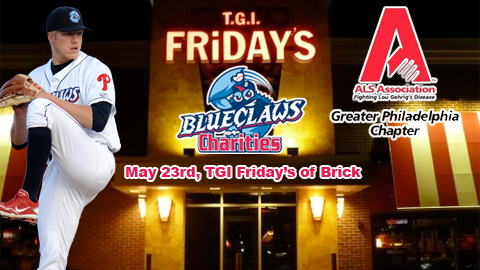 This unique event goes to TGI Friday's in Brick for the first time on May 23rd.