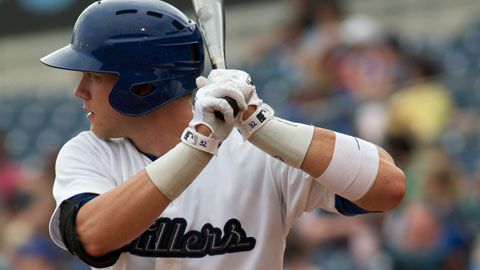 Lars Davis ended Tulsa's four-game losing streak with a dramatic three-run homer in the ninth inning Monday night in North Little Rock.