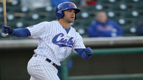 Brett Jackson has an .827 OPS in 23 games for Triple-A Iowa this season.