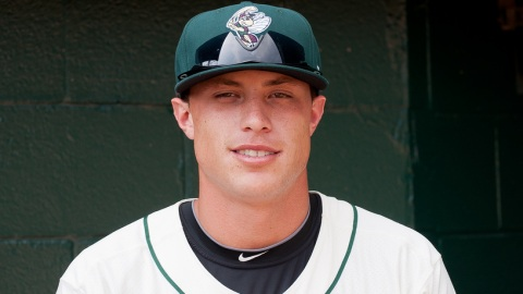 Travis Taijeron is third in the South Atlantic League in slugging percentage.