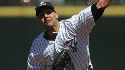 Andy Pettitte has 13 strikeouts in 17 Minor League outings this year.