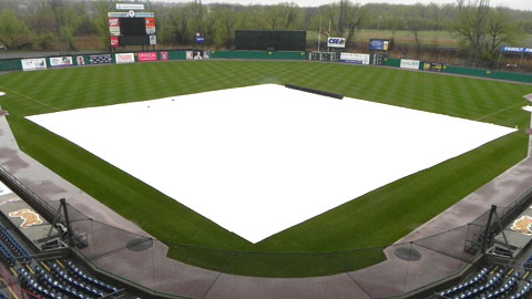 The Chiefs and the Bulls were postponed due to rain Monday night.