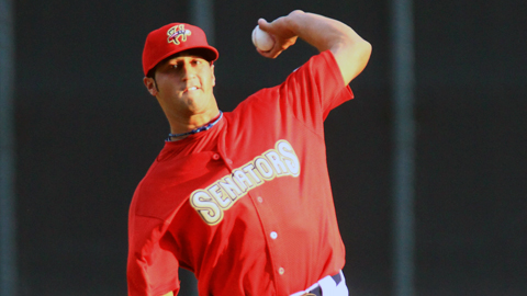 Danny Rosenbaum has two complete games in seven starts this season.