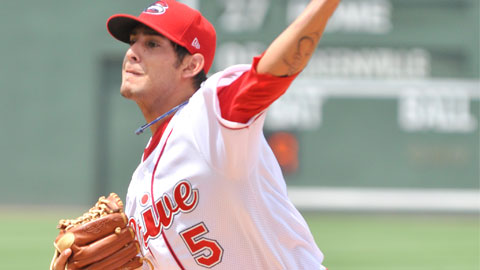 Pena struckout a career-high seven batters on May 8th.