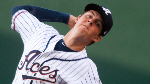 Trevor Bauer faced five batters over the minimum against Oklahoma City.