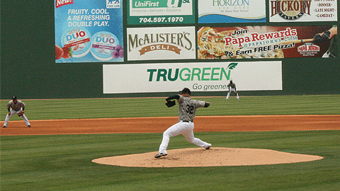 Terry Doyle is sixth in the International League with 56 strikeouts.