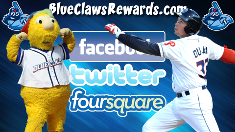 BlueClaws fans can win a series of prizes throughout the year at BlueClawsRewards.com