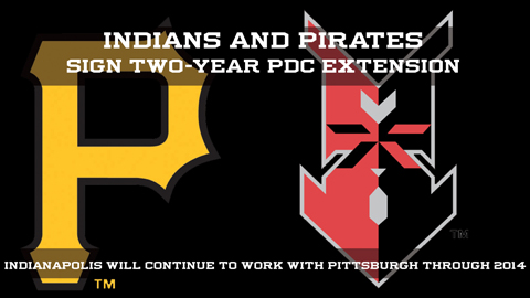 The Indianapolis Indians and Pittsburgh Pirates have extended their development partnership.