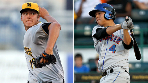 Jameson Taillon (left) will face top FSL home run hitter Wilmer Flores.