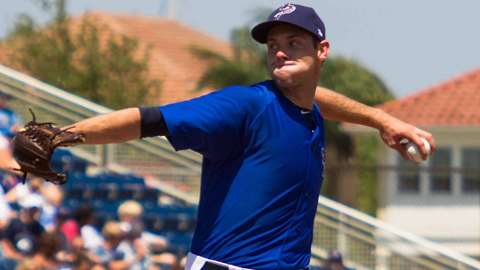 Tony Cingrani is tied for seventh in the Minor Leagues with 76 strikeouts.