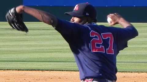 Julio Teheran is 5-2 with a 3.15 ERA in 11 starts for Gwinnett.