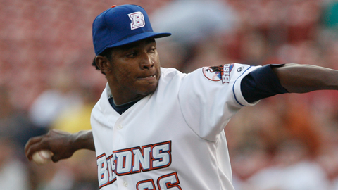 Jenrry Mejia has spent parts of the last three seasons with Buffalo.