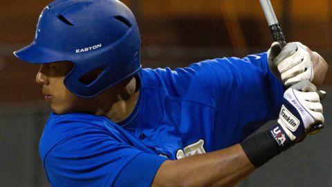 Draftee Rio Ruiz played third base for the Bishop Amat (Calif.) high school squad.
