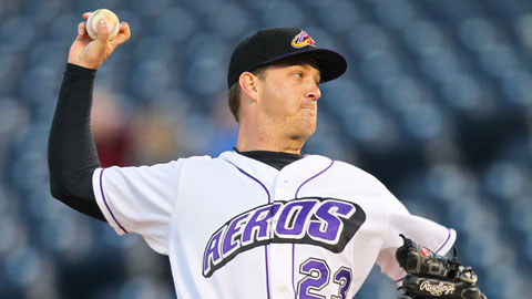 Steven Wright ranks third in the Eastern League with a 1.67 ERA.