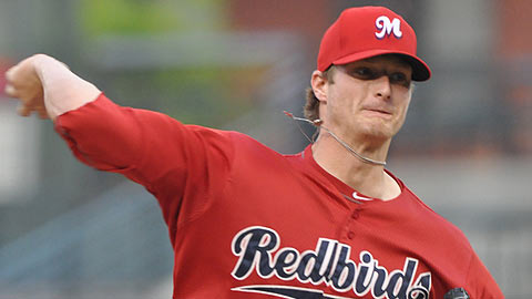 Shelby Miller is 4-4 with a 5.18 ERA through 12 starts this year for the Redbirds.