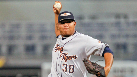 Tigers prospect Bruce Rondon was recently promoted to Double-A Erie.
