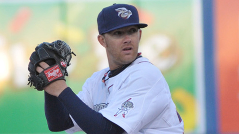 Tyler Cloyd ranks second in the IL with a 2.17 ERA.