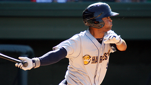 Yankees prospect Mason Williams homered three times in four games this week.