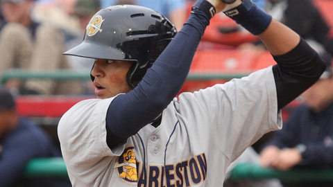 Mason Williams ranks 12th in the South Atlantic League in batting.