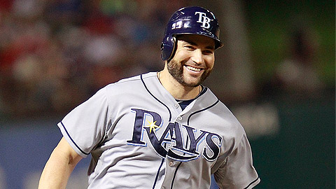 Veteran Luke Scott said he's ready to rejoin the Rays.