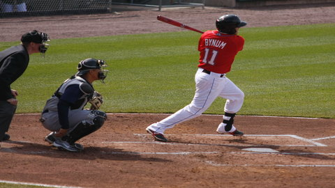Seth Bynum scored three runs and drove in five on Thursday night.