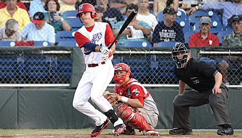LF Jordan Poole had two of the Doubledays four hits on Sunday