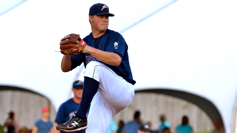 Jimmy Nelson compiled a 2.21 ERA in 13 Brevard County games before his callup.