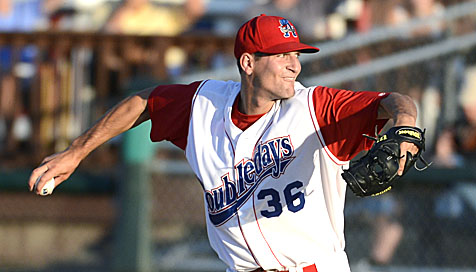 RHP David Fischer pitches a no-hitter through four innings in his first start of the season