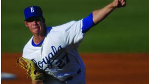 Starter Colin Rodgers tossed six no-hit innings, allowing just one baserunner.