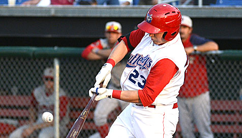 DH Craig Manuel had two of the Doubledays five hits on Monday