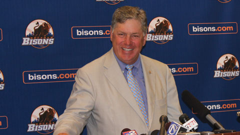 Baseball legend Tom Seaver returned to Buffalo for Triple-A All-Star Week.