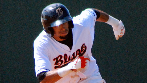 Billy Hamilton stole 104 bases in 82 California Leagues games.