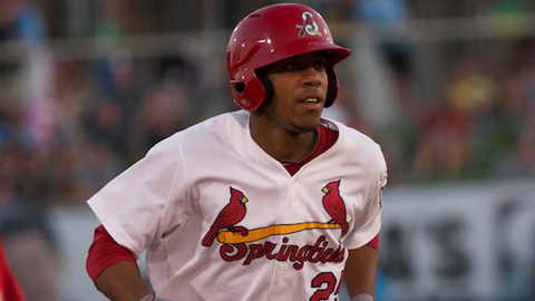 Oscar Taveras leads the Texas League with a .984 OPS through 81 games this season.