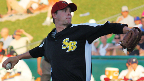 Archie Bradley participated in the Midwest League All-Star Game last month.